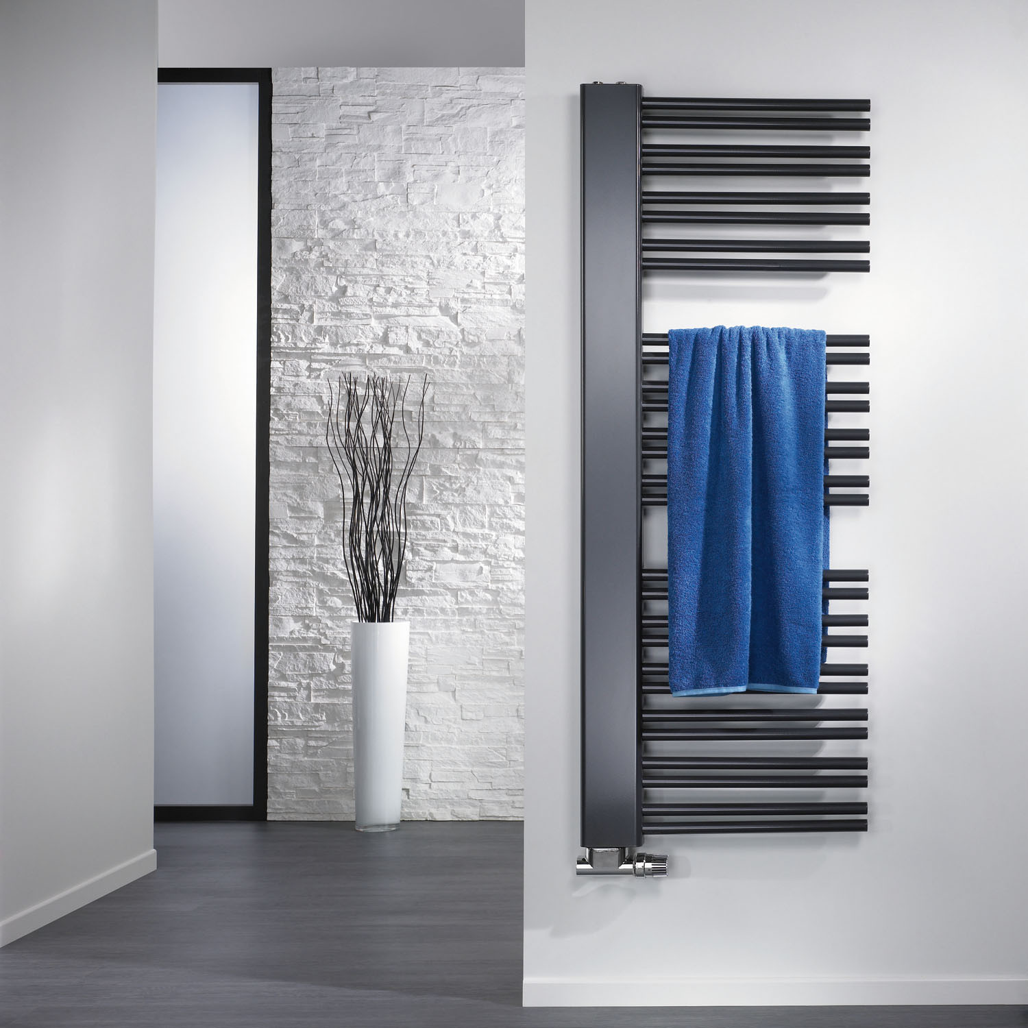 Heated Towel Bathroom Radiators Image Of Bathroom And Closet