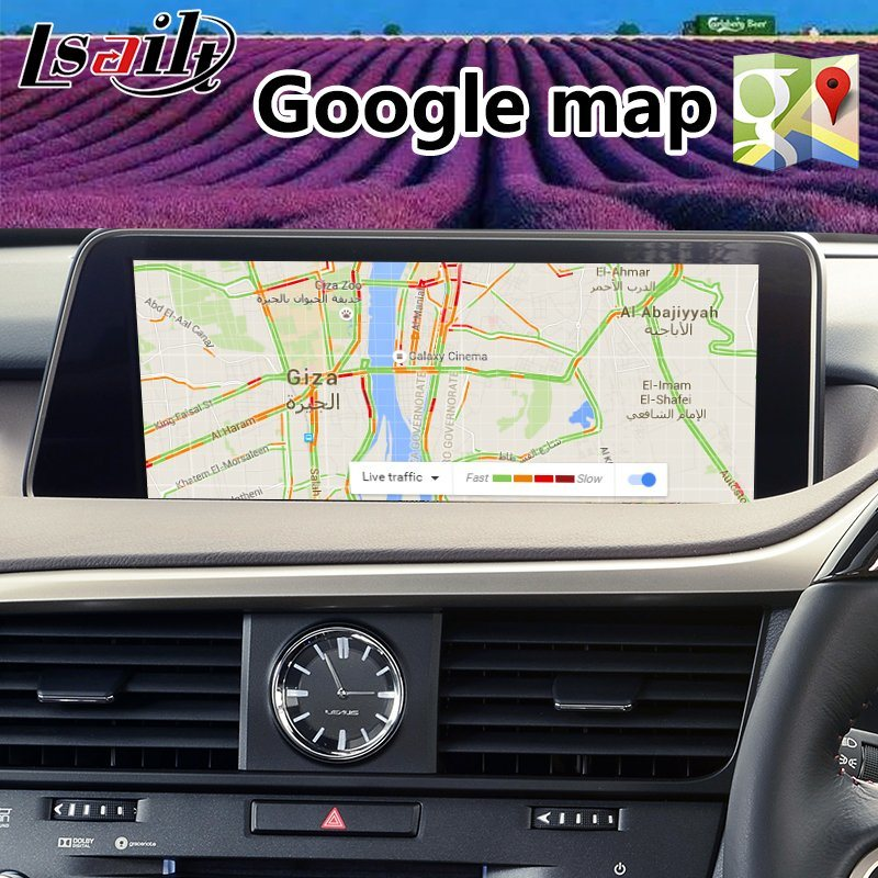 china android 7.1 auto interface gps navigation system for lexus rx