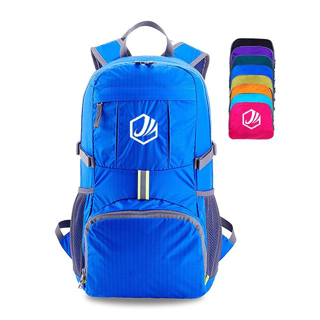 fae045cf6ceb [Hot Item] 35L Outdoor Ultra Light Casual Folding Bag Shoulder Breathable  Nylon Travel Backpack