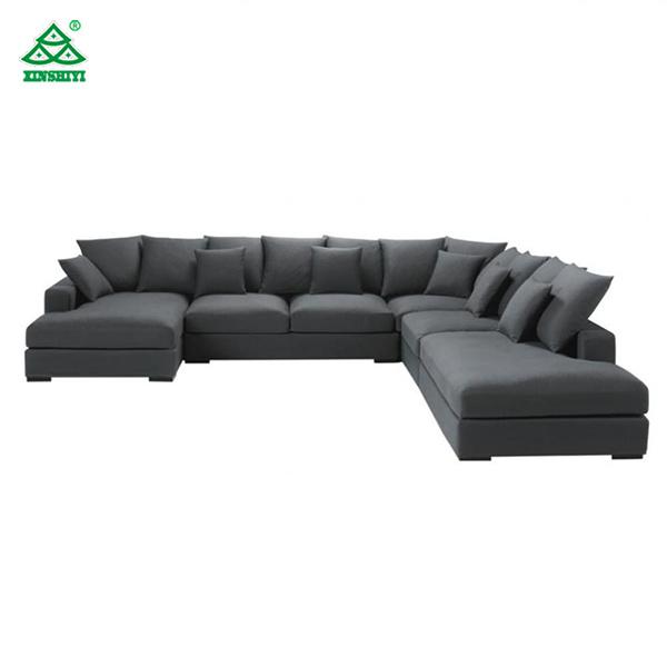 [Hot Item] Modern Comfortable Living Room Sofa Set 7 Seater Corner Sofa