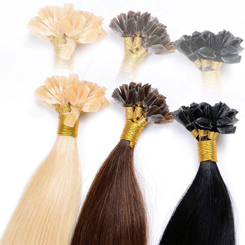 China Keratin U Tip 1 Gram Each Strand Nail Tip Fusion Human Hair