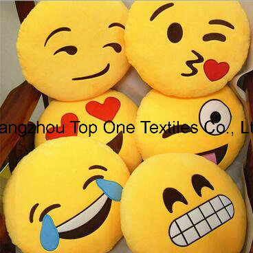 2017 Cute Wholesale Emoji Pillow pictures & photos