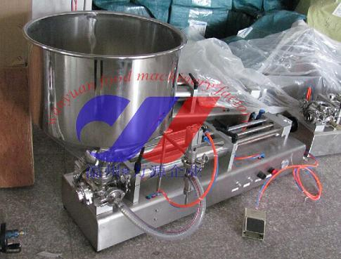 Semi-Automatic One Head Ointment Filling Machine