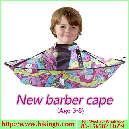 China Kids Haircut Umbrella Apron Haircut Catcher Hair Cutting