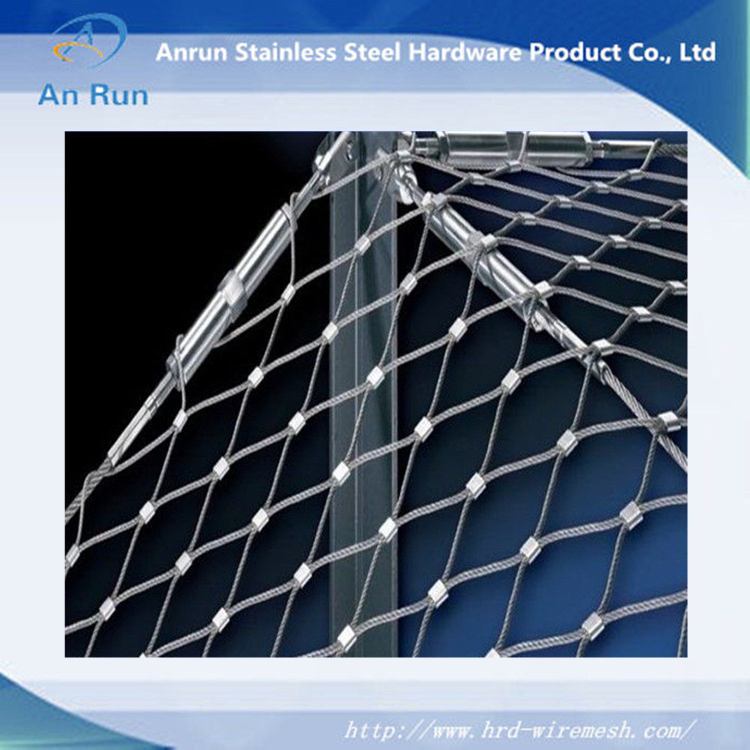 China Decorative Protection Stainless Steel Wire Rope Mesh - China ...