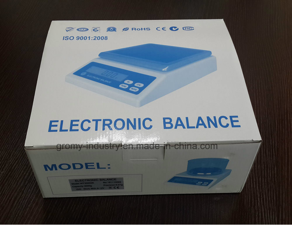 Electronic Weighing Balance Precision Balance 0.01g pictures & photos