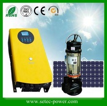 China 11kw Solar Pumping System for 10HP AC Pump - China