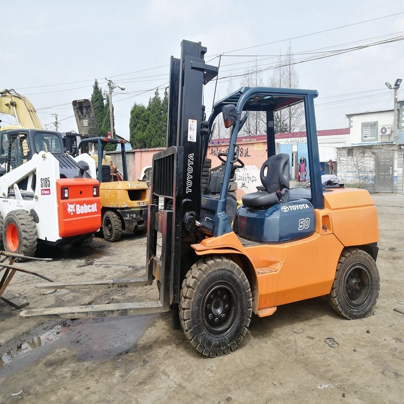 China Original Japan Used 5 Tons Capacity Toyota Forklift for Sale - China  Used Forklift, Toyota Forklift