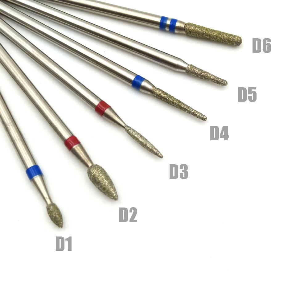 China Carbide Nail Drill Bits File Cuticle Clean Burr - China Nail ...
