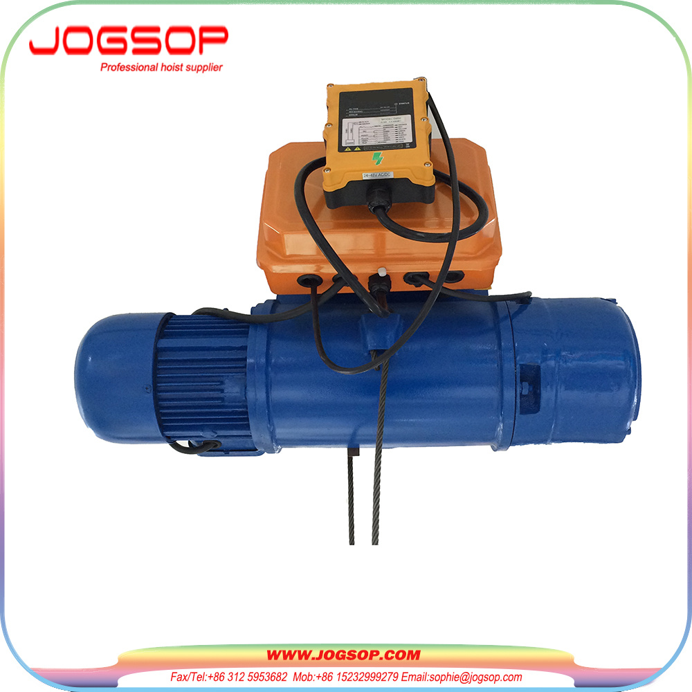 China Electric Hoist 10 Ton CD Type Wire Rope Hoist for Weight ...