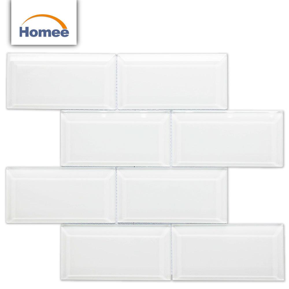 Hot Item Outside Balcony Wall Tiles Designs Kitchen White Gl Subway Tile