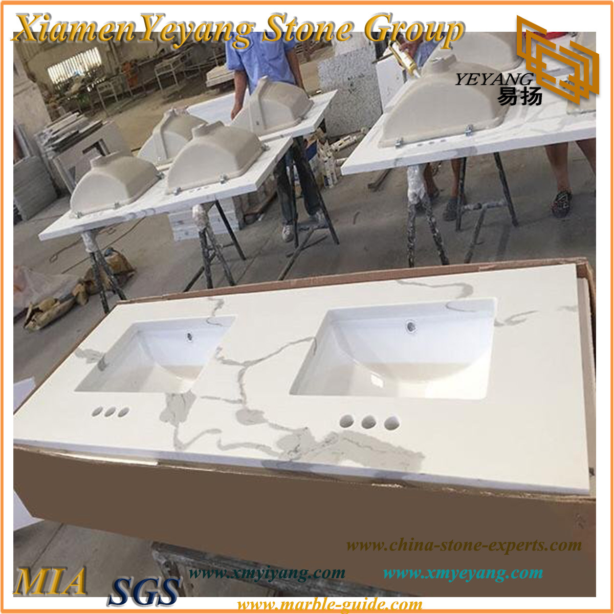 vyxemxztogkc kitchen vanity for tops china quartz calacatta countertops productimage bathroom and
