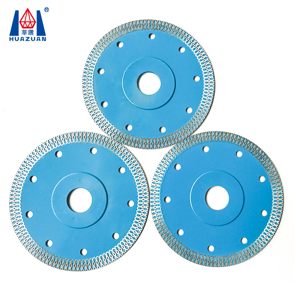 China Mesh Diamond Ceramic Tile Cutting Blade For Angle Grinders