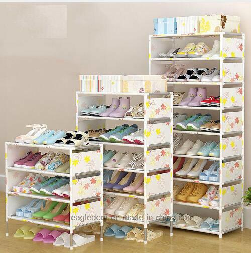 Shoe Cabinet Shoes Racks Storage Large Capacity Home Furniture DIY Simple  Portable Shoe Rack (FS 10) 2018