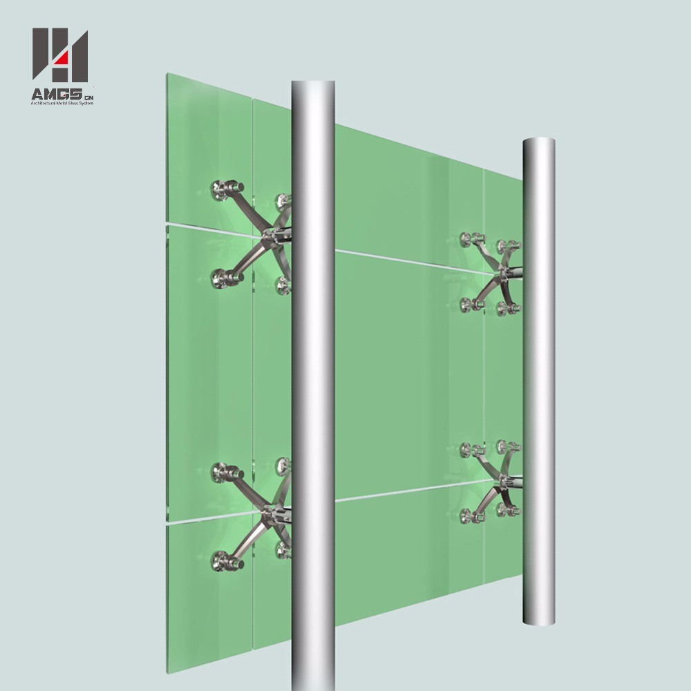 China Modern Exterior Facade High Quality Point Support