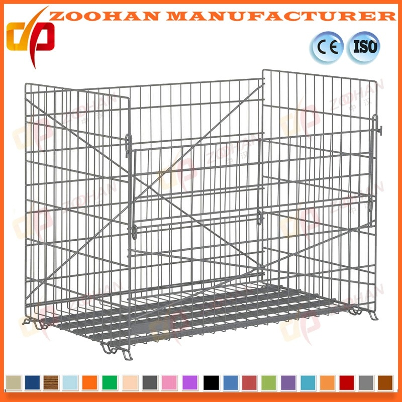 China Lockable Steel Security Gas Bottle Wire Mesh Storage Cage ...