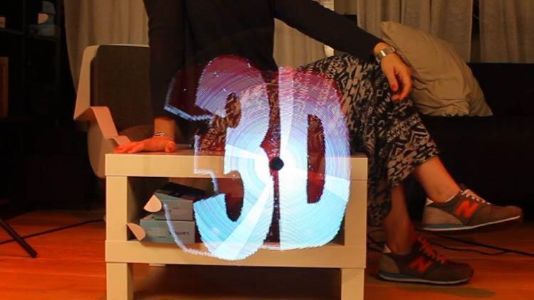 [Hot Item] High Resolution Hypervsn Hologram Display 3D Holographic  Projector