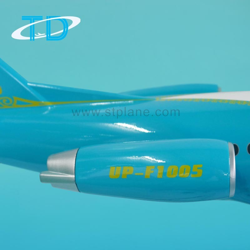 Bek Air Fokker 100 (100cm) Resin Large Display Plane Model pictures & photos