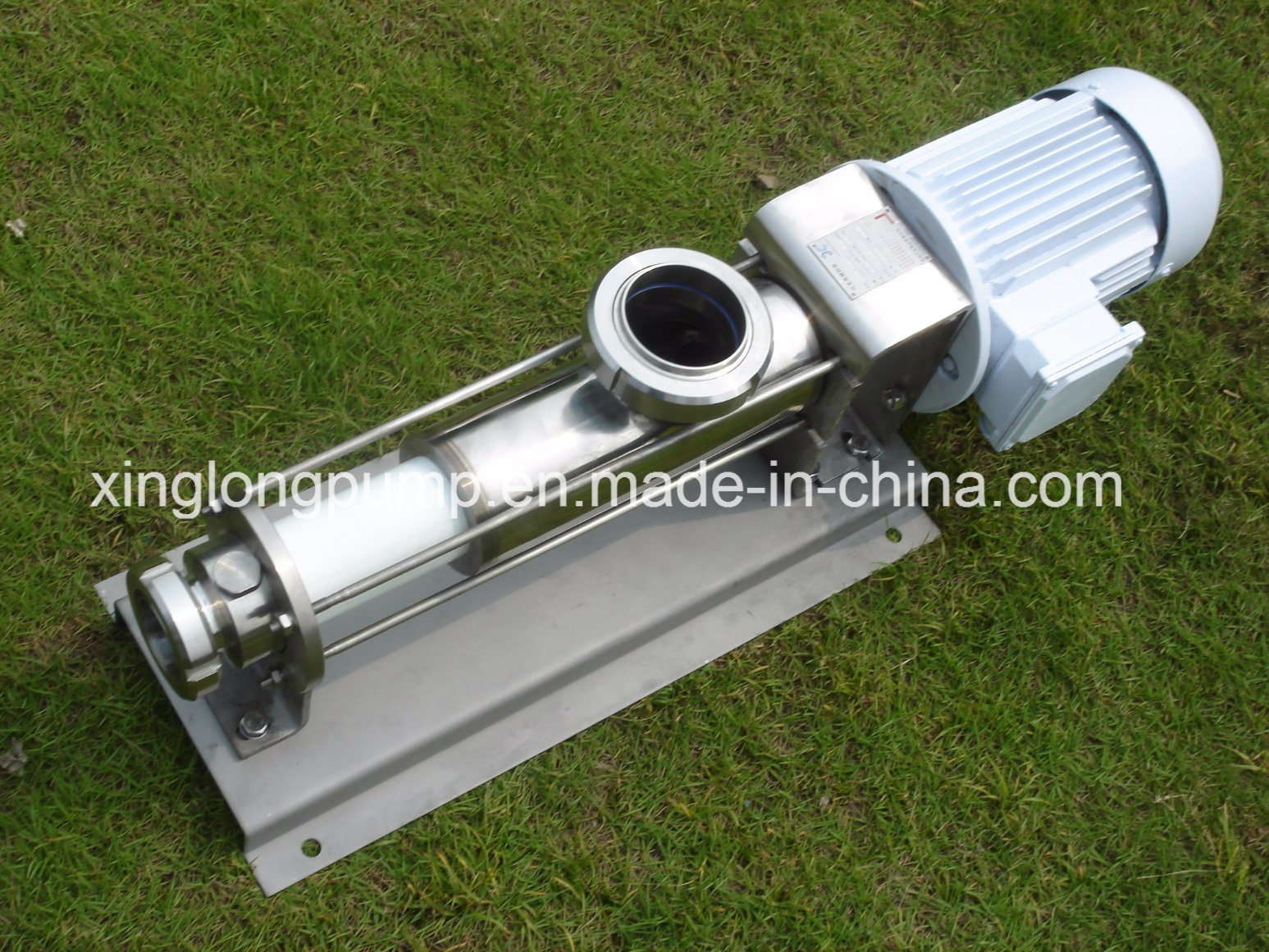 New Design Sanitary Screw Pump for Juice with Great Price pictures & photos