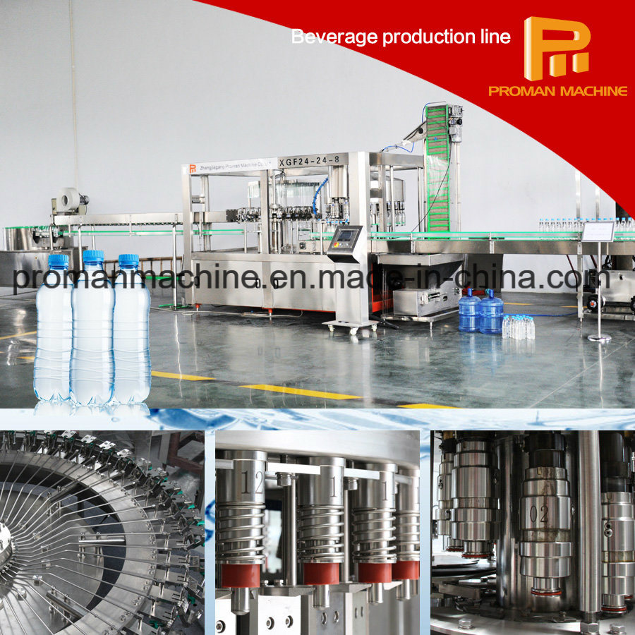 Complete Bottled Mineral Water / Pure Water Production Line pictures & photos