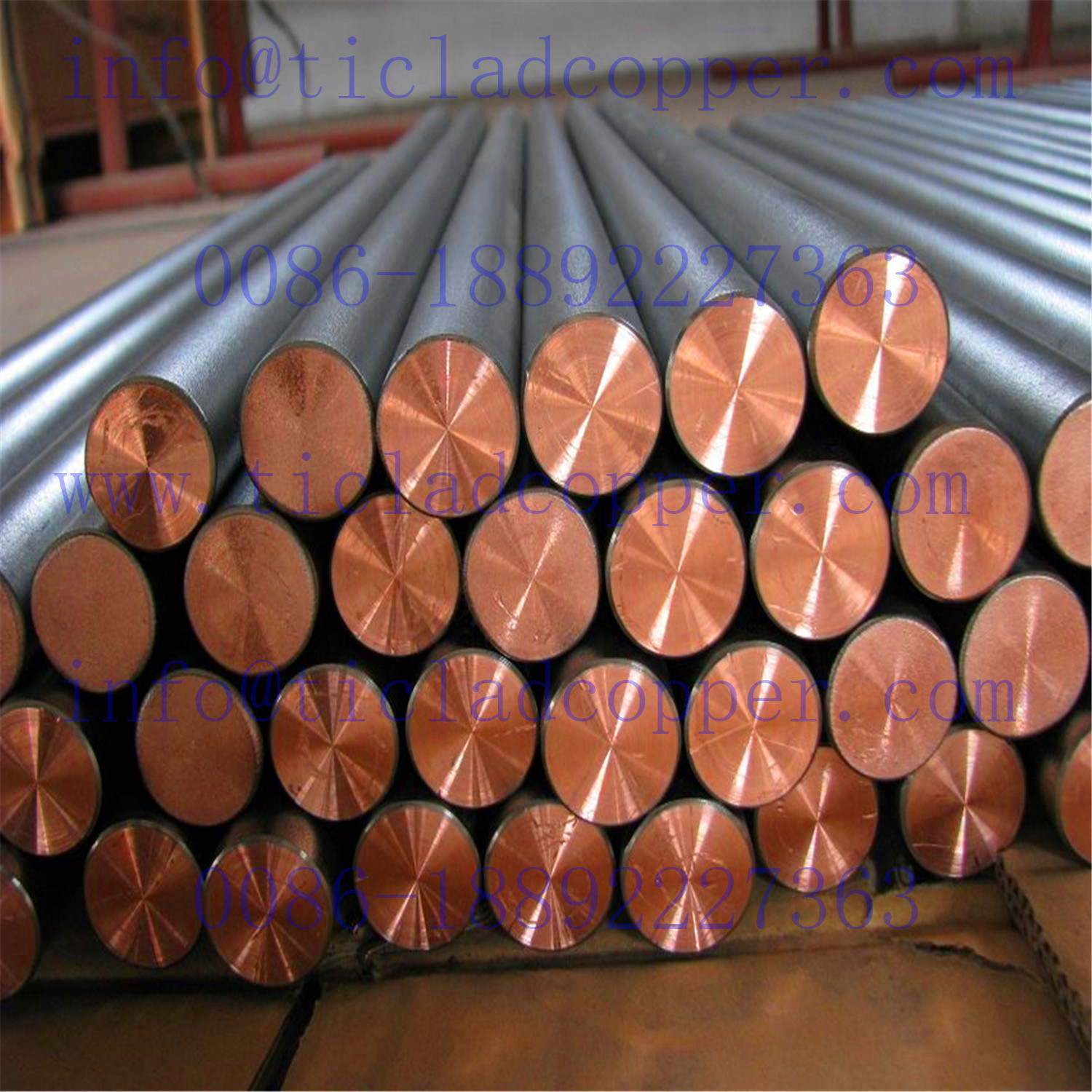 316L Stainless Steel Clad Copper Clad Steel Bus Bar for Gold / Copper/ Steel Industry Electrowinning pictures & photos