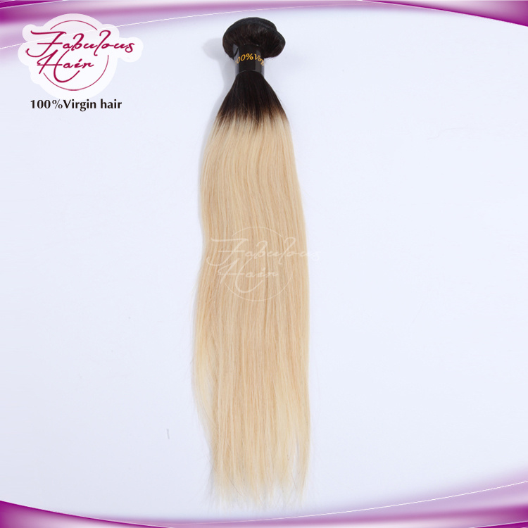 8A European Color 613 Human Hair Straight Blonde Color Hair pictures & photos