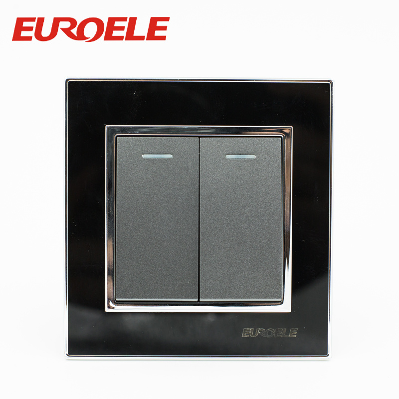 China Sliver Touch Point 86*86mm 250V/10A Electrical Wall Switch ...