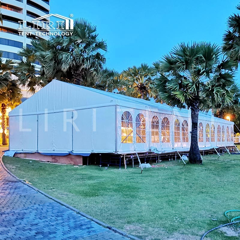 2000 People Durable Large Church Wedding Marquee Tent with Sidewalls for Sale pictures & photos