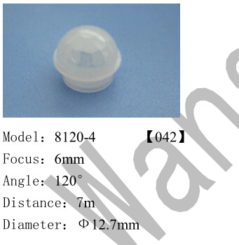 PMMA Plastic Infrared Fresnel Lens for Passive Infrared Sensor 8120-4 pictures & photos