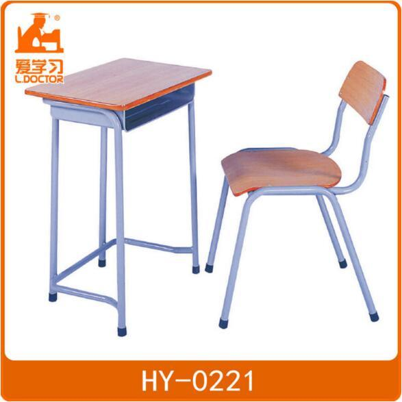 [Hot Item] Metal Wooden School Desk Chair Classroom Furniture