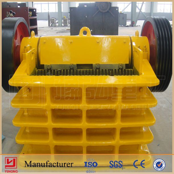 Yuhong ISO9001 & CE Approved Jaw Stone Crusher Machine Price