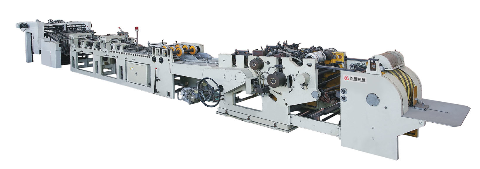 Paper Bag Making Machine (ZD-340C)