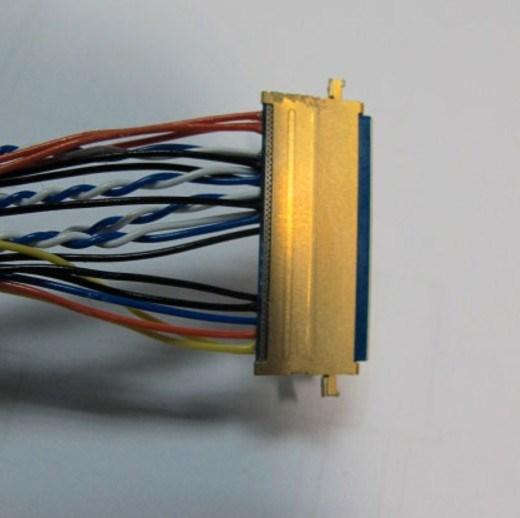 china sample 9 wire harness mini coaxial cabl china wire  sample wire harness #8