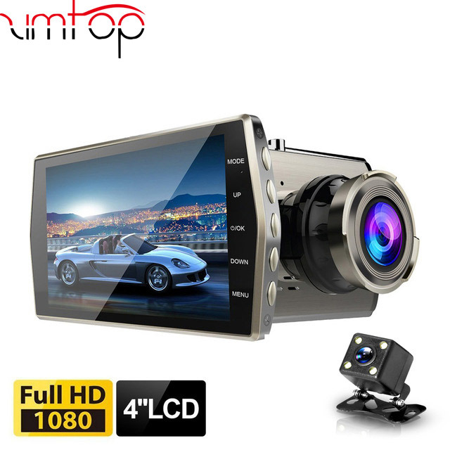 4/'/' HD Dual 1080P Car Camera Vehicle DVR Dash Cam Video Recorder Night Vision