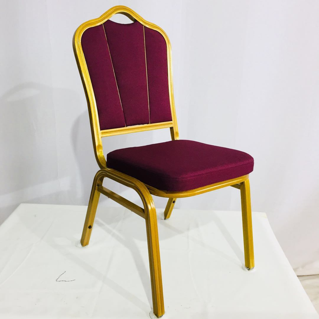 Hot Item Hotel Furniture Cheap Restaurant Used Stackable Metal Banquet Dining Chairs For Wedding Event