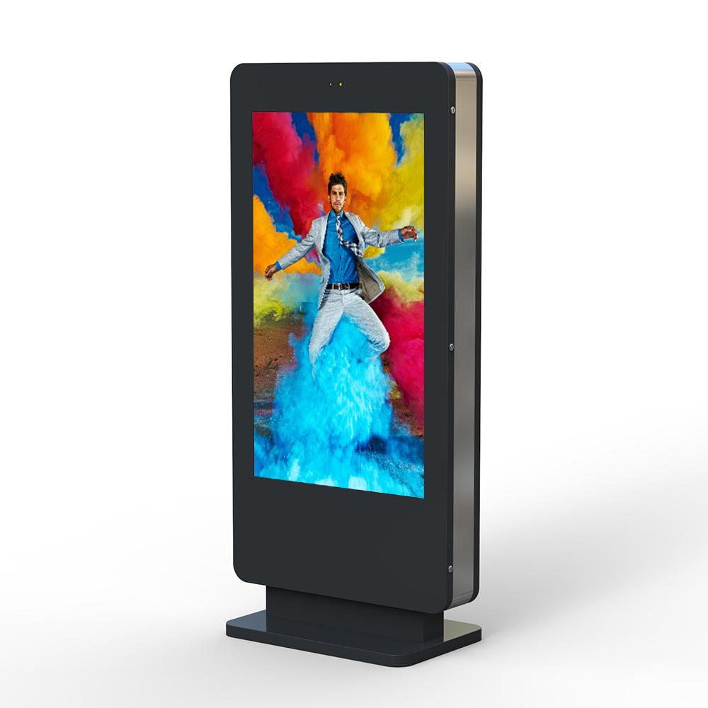 China Outdoor Monitor Freestanding Digital Signage LCD Display