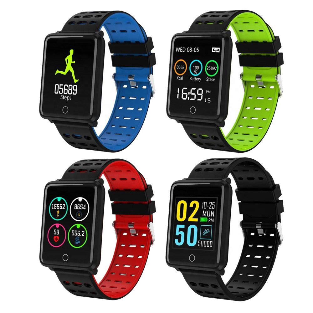 Hot Item Latest Design F3 Smart Bracelet Watch Ip68 Deep Waterproof Running High Alude Uv Bluetooth Wristband