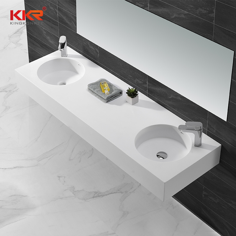 China Solid Surface Vanity Sink With