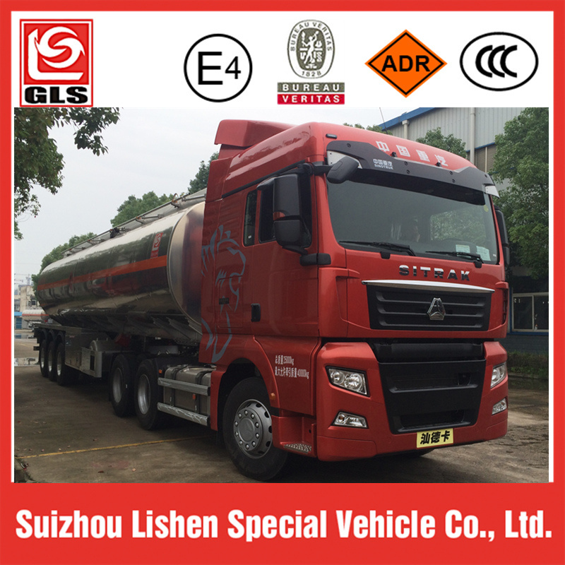 HOWO C7h Fuel Truck Trailer 50, 000L pictures & photos