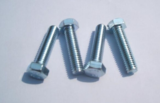ISO4017 Hex Bolts Thread Bolt All Grade Carbon Steel