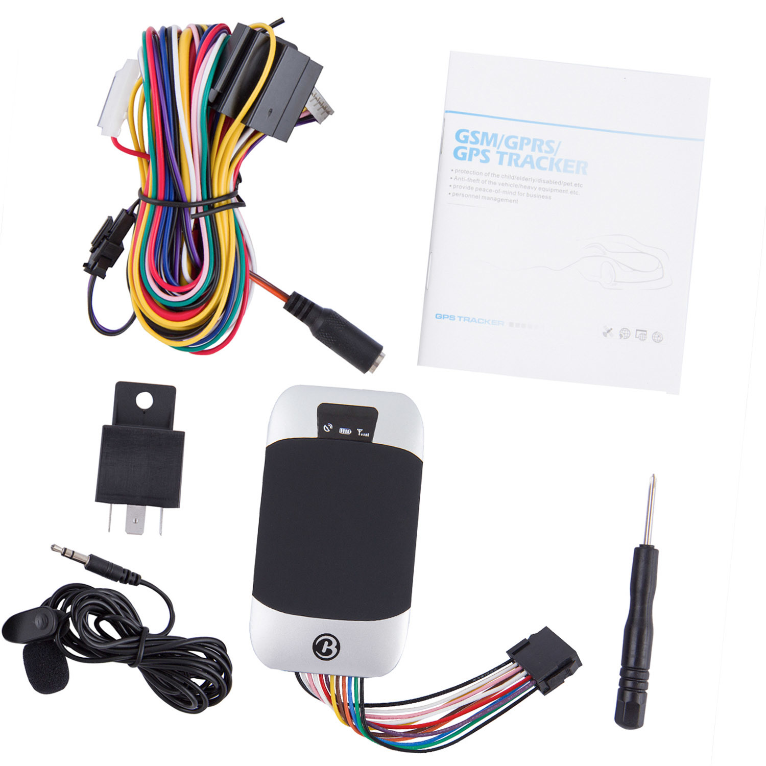 China Multinational Accurate Vehicle Tracker Manual GPS
