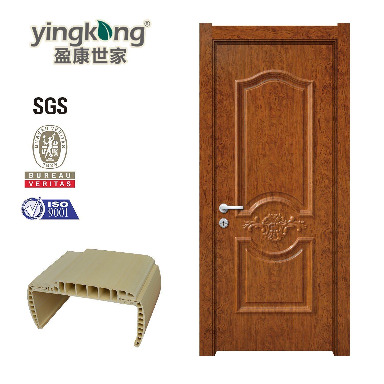 China Wholesale Cheap Plastic Bedroom Doors Wood Wpc Door Price 626 China Wpc Interior Door Price Moulded Door Skin Hdf