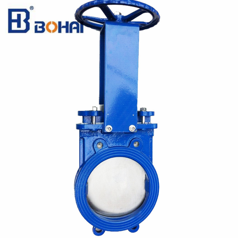 Wafer Knife Gate Valve Price About Cast Iron or Wcb Material Industrial Treatment Used to Water Pipe