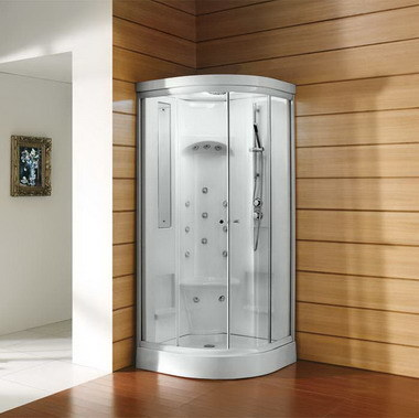 Complete Sauna Steam Steam Room with Touch Screen Control Panel pictures & photos