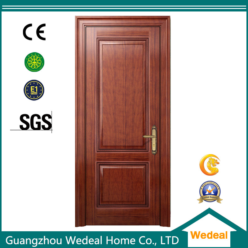 China Red Oak Wood Grain Wooden Veneer Mdf Interior Door China