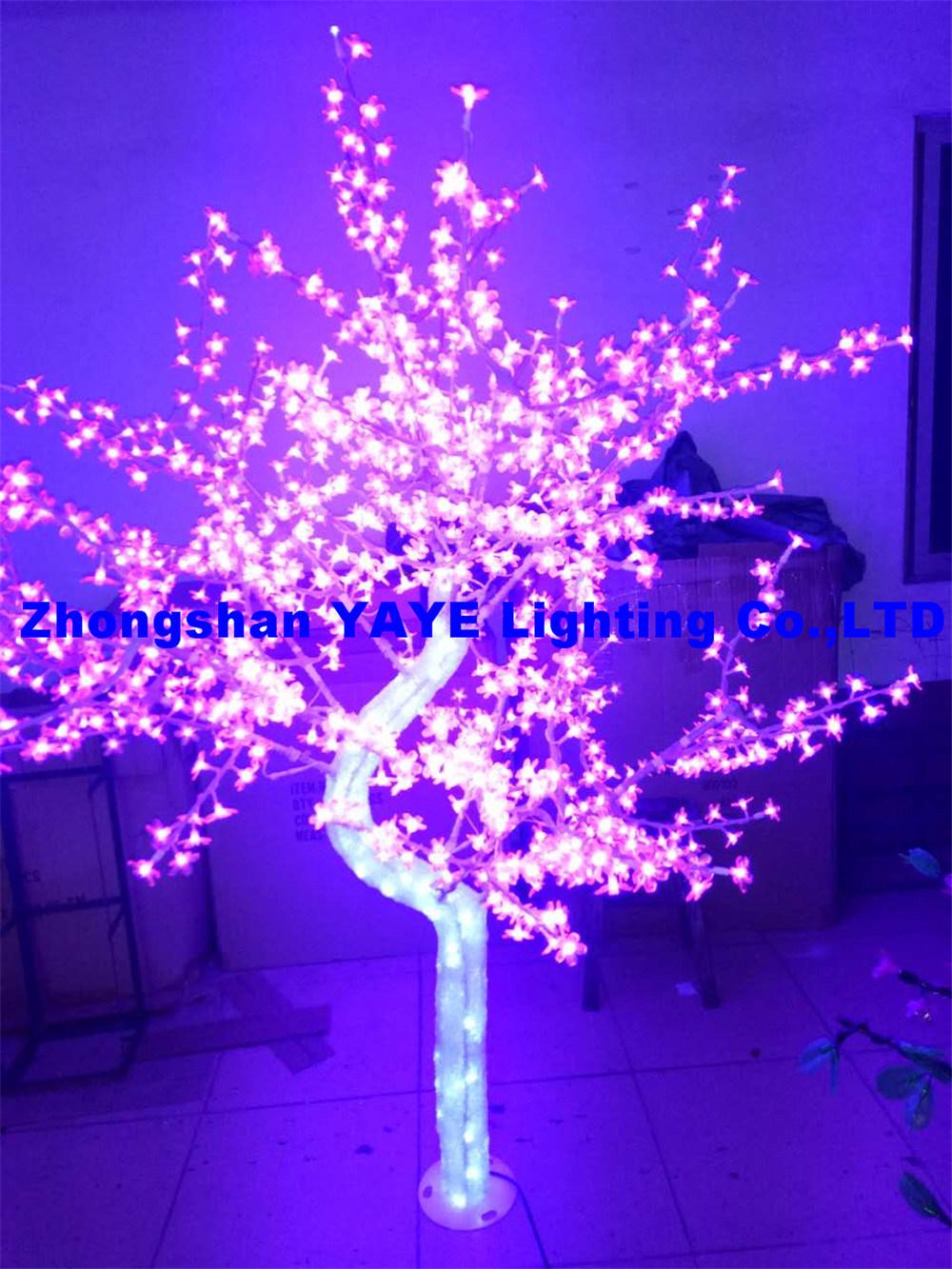 yaye 18 hot sell 2 years warranty red led tree light rohs led christmas tree led festival tree
