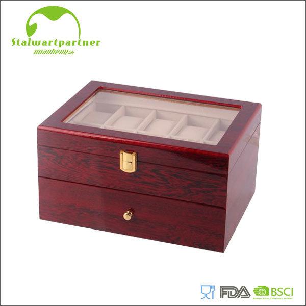 Hot Item Custom Logo Wooden Ring Jewelry Box Wholesale