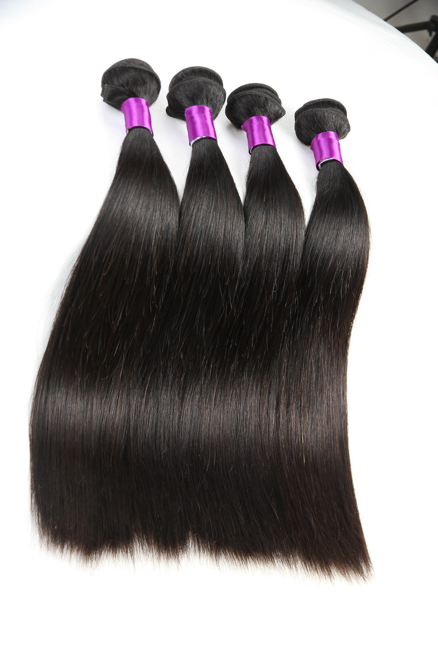 China Tangle Free Indian Silky Straight Weave Hair Extensions Photos