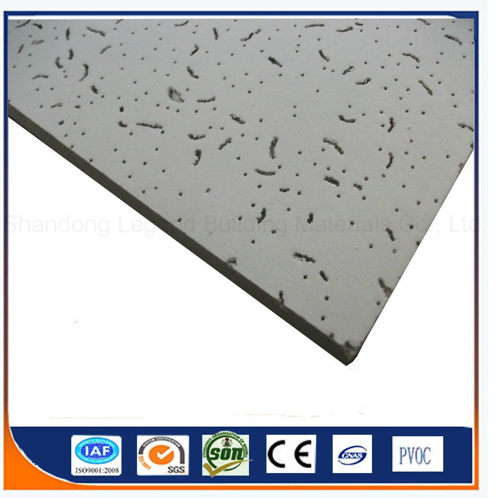 China Mineral Fiber Board/Acoustic Suspended Mineral Fiber Ceiling ...
