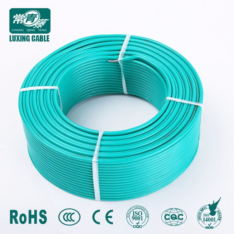 China Copper Conductor 2.5mm 4mm 6mm PVC Insulation Electric Cable ...